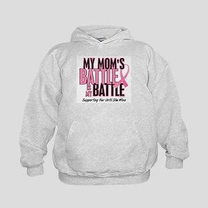 My Battle 1 (Mom BC) Kids Hoodie