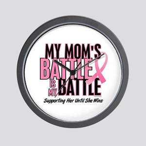 My Battle 1 (Mom BC) Wall Clock