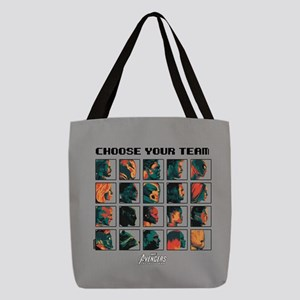 Avengers Infinity War Profiles Polyester Tote Bag