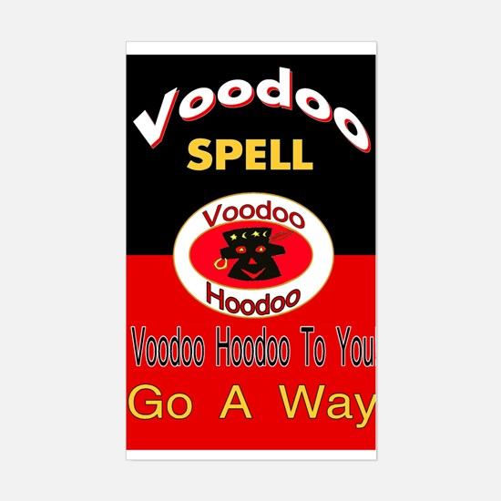 Go A Way Spell Decal