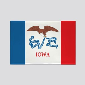 IOWA-FLAG Rectangle Magnet