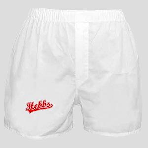 Retro Hobbs (Red) Boxer Shorts