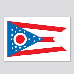 OHIO-FLAG Postcards (Package of 8)