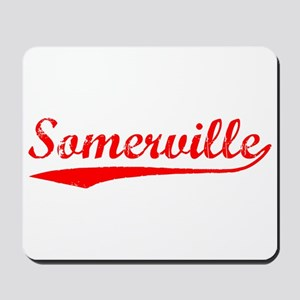 Vintage Somerville (Red) Mousepad