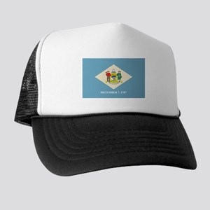 DELAWARE-FLAG Trucker Hat
