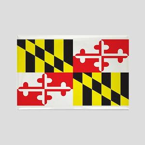 MARYLAND-FLAG Rectangle Magnet