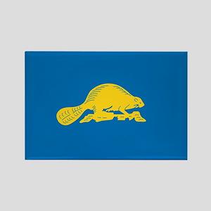 OREGON-STATE-FLAG Rectangle Magnet