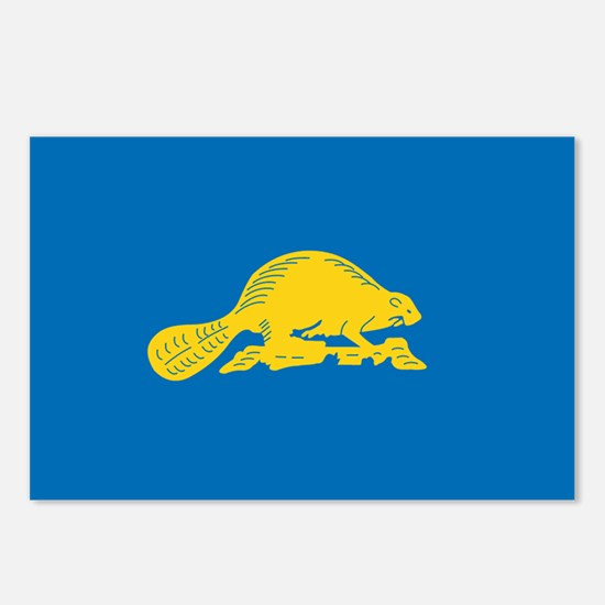 OREGON-STATE-FLAG Postcards (Package of 8)