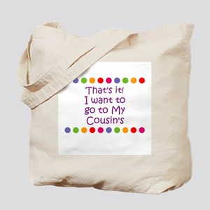 That's it! I want to go to My Tote Bag