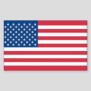 USA-FLAG Rectangle Sticker