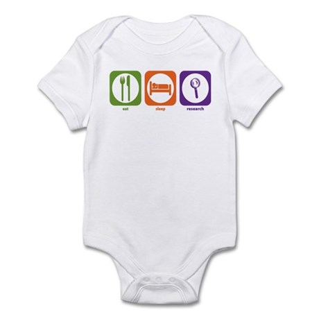 Eat Sleep Research Infant Bodysuit