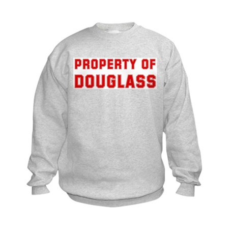 Property of DOUGLASS Kids Sweatshirt