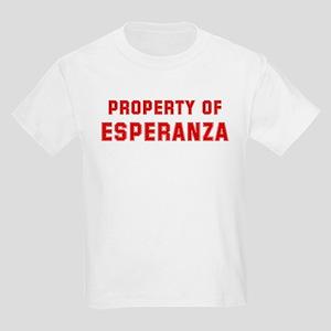 Property of ESPERANZA Kids Light T-Shirt