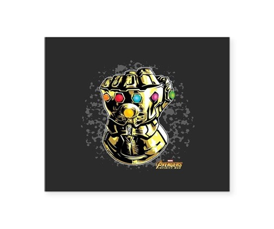 Avengers infinity war smash square sticker 3