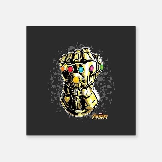 Avengers infinity war smash square sticker 3