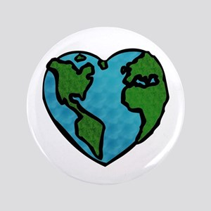 """Earth Day 3.5"""" Button"""