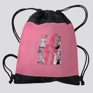 I Love Lucy LOVE Drawstring Bag