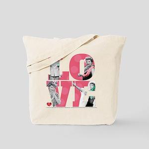 I Love Lucy LOVE Tote Bag