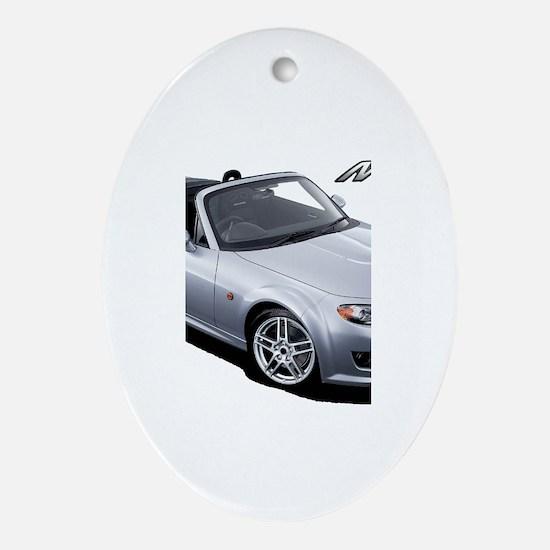 Cute Autocross Oval Ornament