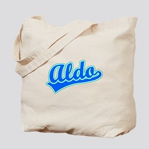 Retro Aldo (Blue) Tote Bag