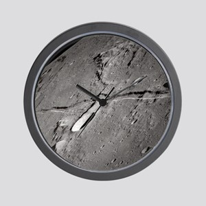 Moon Rille Apollo 10 Wall Clock