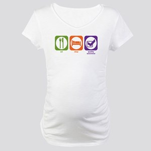 Eat Sleep Quality Assurance Maternity T-Shirt