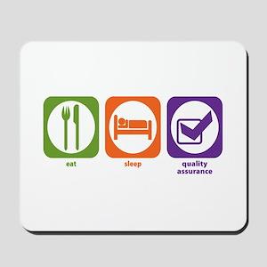 Eat Sleep Quality Assurance Mousepad