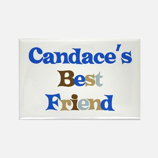 Candace's Best Friend Rectangle Magnet
