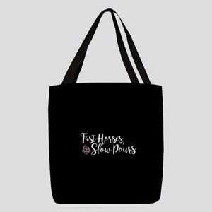 KY Derby 144 Fast Horses Slow P Polyester Tote Bag