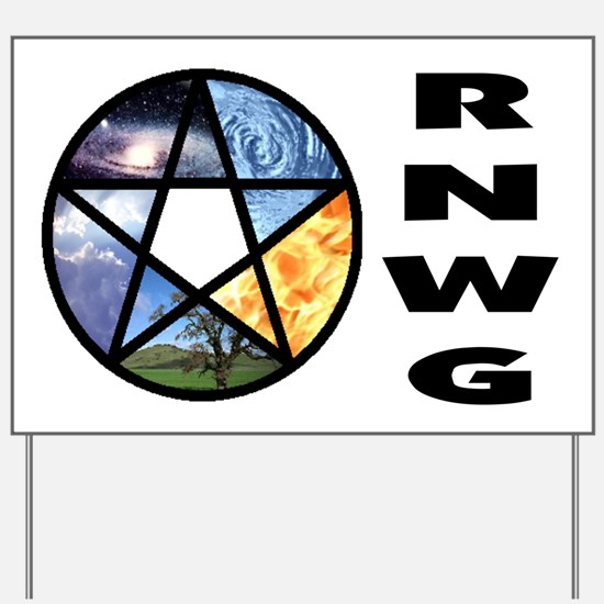 RNWG Official Logo Yard Sign
