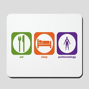 Eat Sleep Pulmonology Mousepad