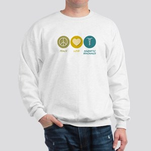 Peace Love Magnetic Resonance Sweatshirt