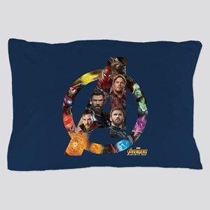 Avengers Infinity War Logo Pillow Case