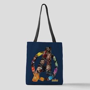 Avengers Infinity War Logo Polyester Tote Bag