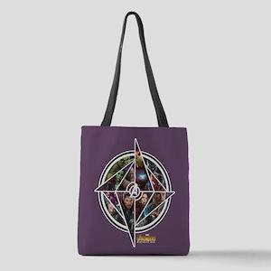 Avengers Infinity War Circle Polyester Tote Bag