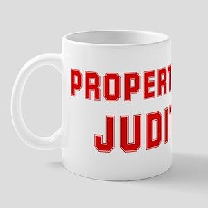 Property of JUDITH Mug