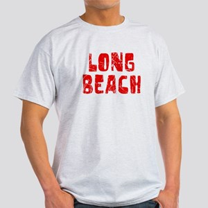Long Beach Faded (Red) Light T-Shirt