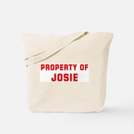 Property of JOSIE Tote Bag