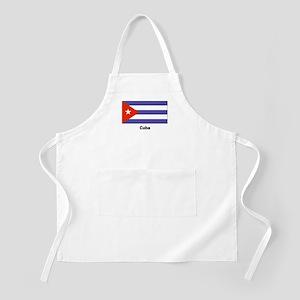 Cuba Cuban Flag BBQ Apron