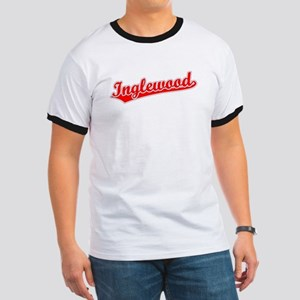 Retro Inglewood (Red) Ringer T