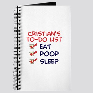 Cristian's To-Do List Journal