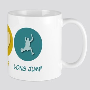Peace Love Long Jump Mug