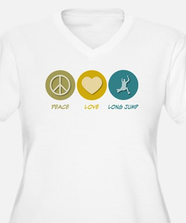 Peace Love Long Jump T-Shirt