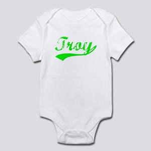 Vintage Troy (Green) Infant Bodysuit