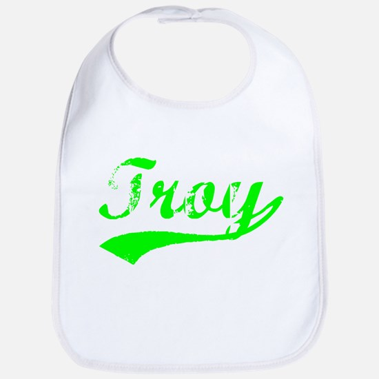 Vintage Troy (Green) Bib