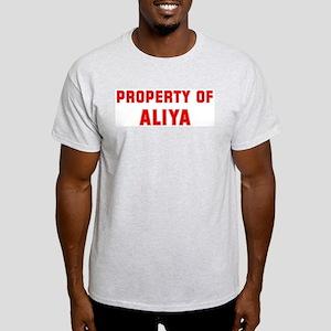 Property of ALIYA Light T-Shirt