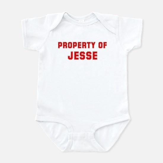 Property of JESSE Infant Bodysuit