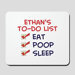 Ethan's To-Do List Mousepad