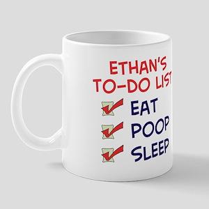 Ethan's To-Do List Mug