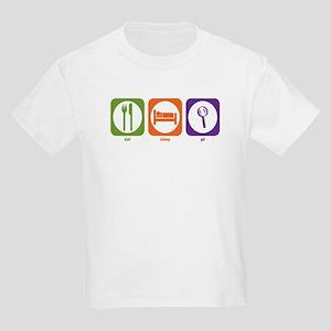 Eat Sleep PI Kids Light T-Shirt
